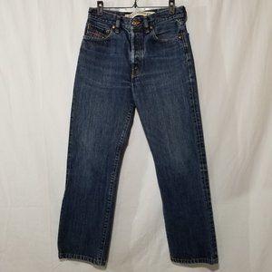 Diesel kratt jeans straight leg button fly 29x32